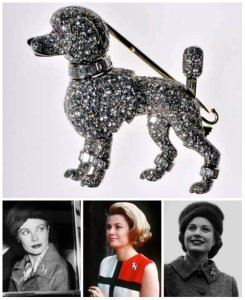 Poodle brooch by Cartier