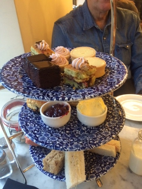 We earned the afternoon tea!