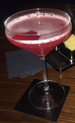 A pomegranate and gin cocktail at the Westbury Hotel Mayfair never tasted so good!