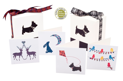 Tartan Twist Stationery