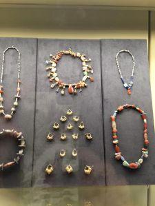 Babylonian jewellery in the Pergamon Museum Berlin