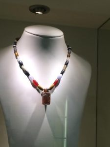 Ancient Assyrian necklace in the Pergamon Museum Berlin