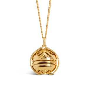 Lily Blanche Gold memory Keeper Locket