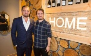 Josh Littlejohn with Leonardo Dicaprio
