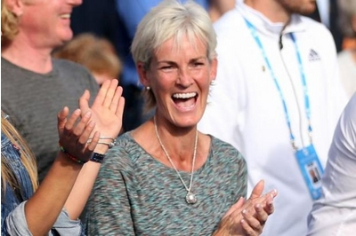 Judy Murray wears the Lily Blanche Memory Keeper Locket